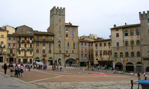 Tourist guide of Arezzo