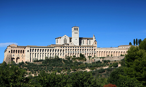 Tourist guide of Assisi