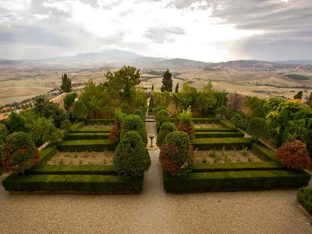 Pienza-Garden