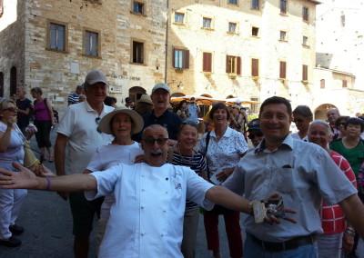 San Gimignano Ice Cream Dondoli