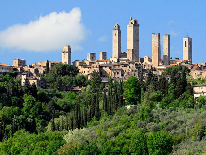 San-Gimignano-Towers