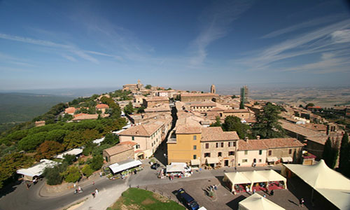 Tourist guide of Montalcino