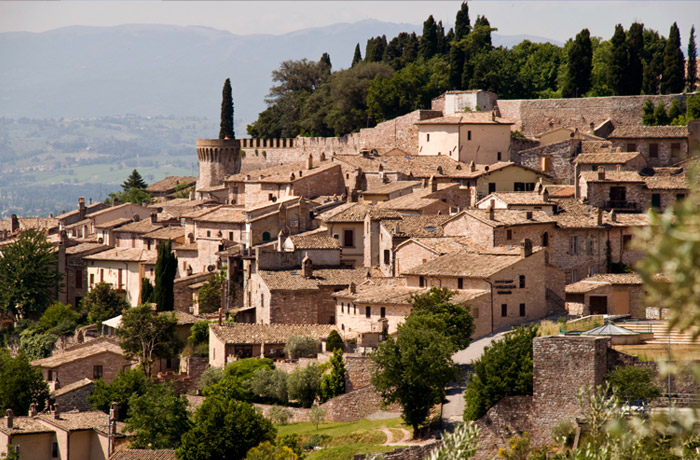DAY TOUR OF ASSISI AND SPELLO