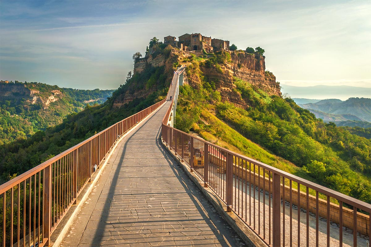 Orvieto and civita di bagnoregio tour transfer and tours cortona - Civita di bagno ...